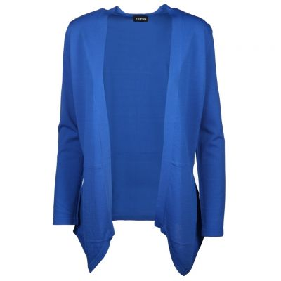 Taifun - Strickjacke in Royalblau