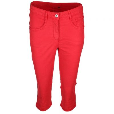 Marc Aurel - Caprihose in Rot