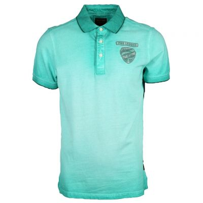 PME Legend - Poloshirt im Washed Out Look