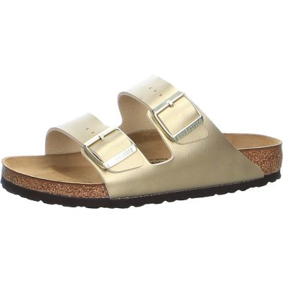 Birkenstock - Pantolette in Gold - Arizona BF Gold