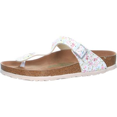 Birkenstock - Zehentrenner mit Watercolor Flower Print - Gizeh BF Watercolor Flower VEG