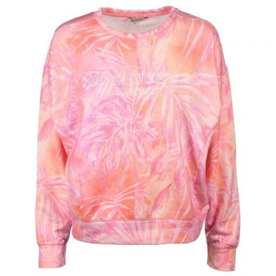 Herrlicher - Sweatshirt in Koralle - Carrie Light