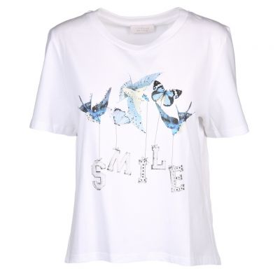 Rich & Royal - Shirt mit Butterfly Print - T-Shirt with butterfly print