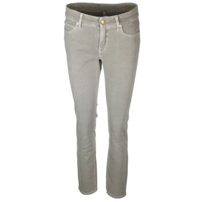 Cambio - Jeans im Used Look - Paris ancle cut
