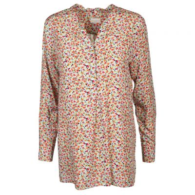 Milano Italy - Long Bluse mit Streumuster