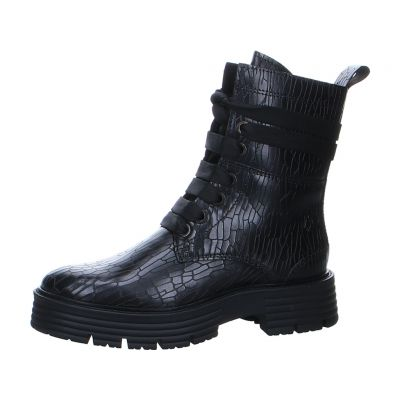 Marco Tozzi by GMK - Plateau Boot mit Reptil Print