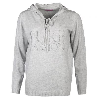 six-o-seven - Pullover im Hoodie Style