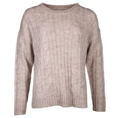 six-o-seven - Pullover mit Zopfmuster