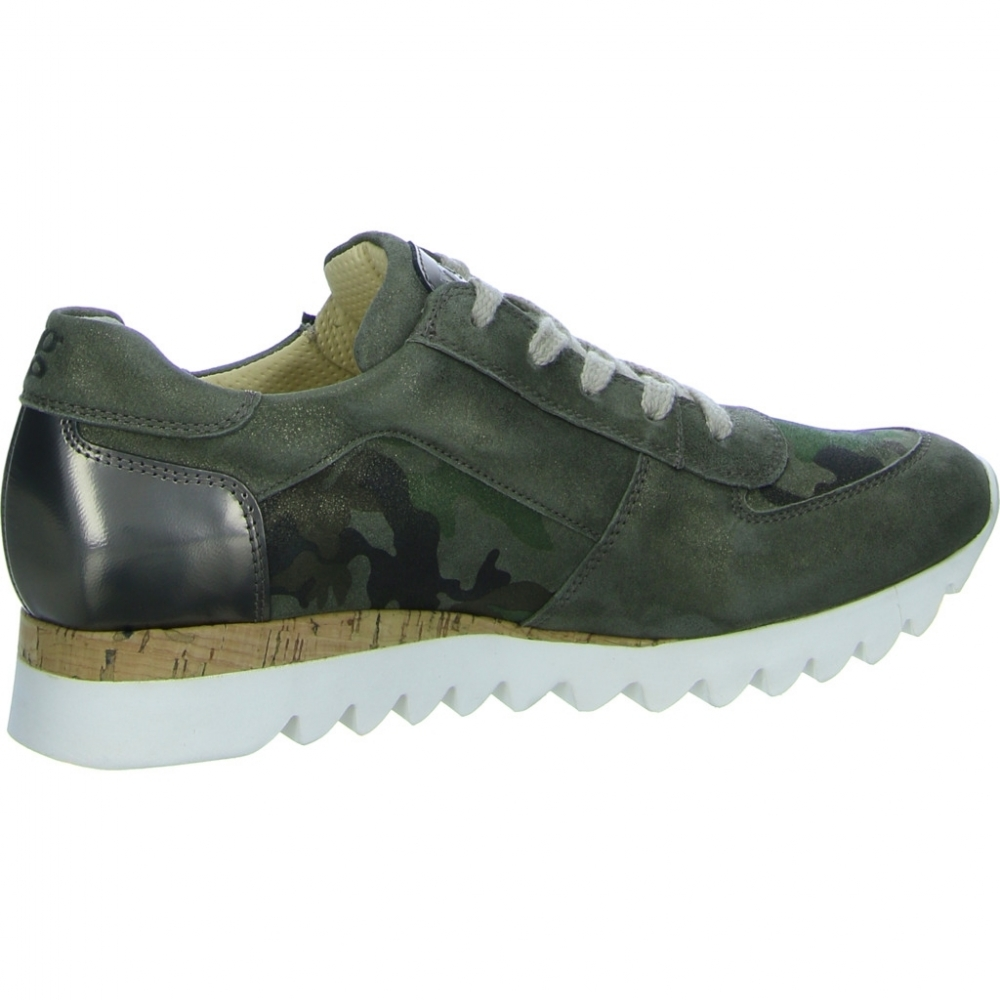 Paul Green Sneaker grün für Damen   SALE Strandpassage e49004db73